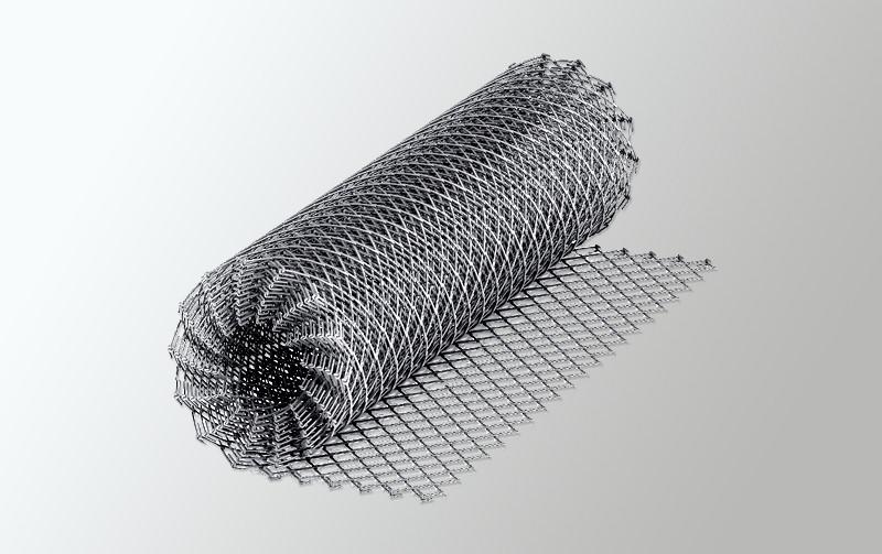 Сетка рабица (1,8) 50*50 (2,0х10) оцинк